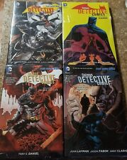 BATMAN DETECTIVE COMICS HC LOT VOL 2,3,5,6 ALL NEW, STILL SEALED