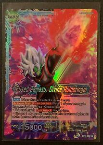 Fused Zamasu, Divine Ruinbringer   BT10-032 UC   Blue   Foil   Dragonball Super