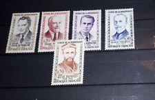 Frankrijk France 1960 mich 1296 - 1300 postfris mnh