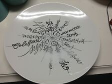 "Bloomingdales Limided Edition 2006 Serving Platter 13"" 1/4 Beautiful Platinum"
