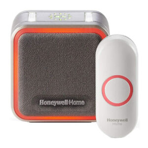 Honeywell 5 Series Portable Wireless Doorbell With Halo Light and Push Button