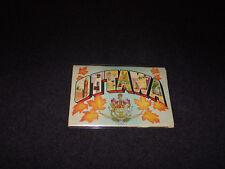 1950's Souvenir Postcard Folder Ottawa Ontario Canada