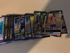 2016-17 Match Attax Champions League Lot of 48 Foils/Limited/Duos etc + 210 Base