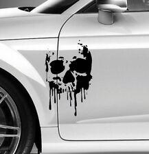 D037 Totenkopf Blood Aufkleber 30x20cm Sticker Autoaufkleber Folie Skull Skulls
