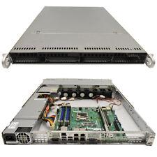 Supermicro CSE-815 1U Rack Server Mainboard X10SLM+-LN4F LGA 1150 1x CPU Kühler