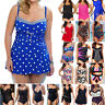Women Plus Size Monokini Bikini Set Swimdress Beachwear Swimwear Bathing Suit