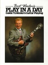 Bert Weedon's Play In A Day - Guide To Modern Guitar Playing - Same Day P+P