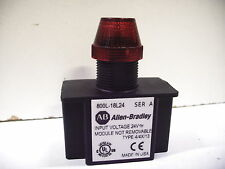 800L-18L24R 18mm RED INDICATOR WITH RED LED 24V