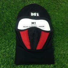 M1 Motorcycle red  Full  Face Mask Dustproof  UV Breathable biker/ski/garden