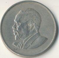 Kenya, 1 Shilling, 1968, VF Copper-nickel, #WT8565