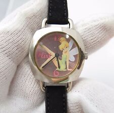 """TINKERBELL, Disney, """"Classic"""" Round Dial, Retro Band  LADY'S/KID'S WATCH, 232"""
