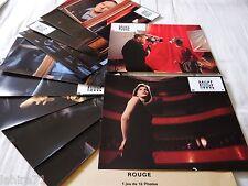 trintignant ROUGE !   Kieslowski  jeu 12 photos cinema lobby cards