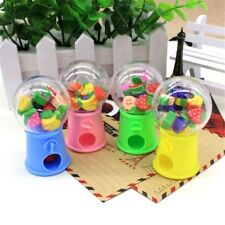 Creative Correction Supplies Candy Machine Fruit Shaped Eraser Rubber Stationery