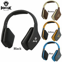 PopClik JUMP! PRO Headphones Magnet Driver Over the Ear 16 Ohms Impedance 40 mm