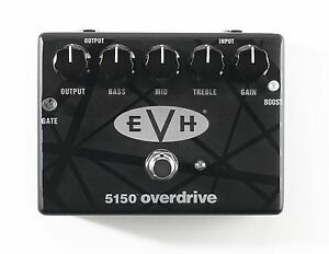 Used MXR EVH5150 Eddie Van Halen Overdrive Guitar Effects Pedal Dunlop