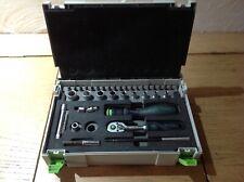Festool ratchet socket set. 1/4 inch. 497881. Mini systainer. Rare.