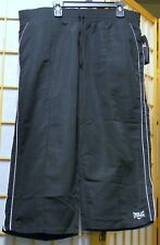 EVERLAST SEARS LARGE BLACK & WHITE CROP PANTS NEW WITH TAGS