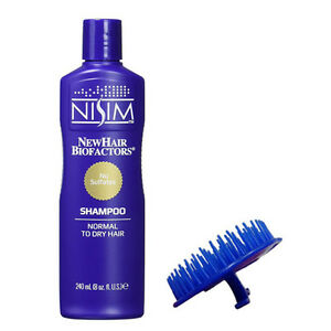 Deep Cleansing Clarifying Shampoo Afro Hair Dry Itchy Scalp Mens Womens Brush