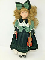 Victorian Collection Porcelain Doll by Melissa Jane 1995 Limited Edition #76867