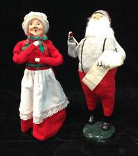 Byers Choice Santa and Mrs. Santa 1983 - 1984