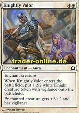 4x Knightly Valor (Ritterehre) Return to Ravnica Magic