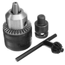 """1.5-13mm Drill Chuck Drill Adapter 1/2"""" Wrench Changed Impact Into Electric Dril"""
