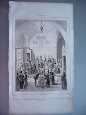 TURQUIE 1840 DINER GRAND VIZIR SALLE DU DIVAN