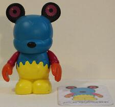 "Walt Disney Vinylmation ""Blue & Yellow Gear Bear"" Dan Howard/Kimball with card"