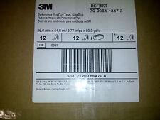 3M Duct Tape, 8979 Performance Plus, Slate Blue, 96mm x 54.8m 12.1 mil, 12/case