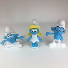 Burger King Smurfs The Lost Village Doll Figure Lot Of 3