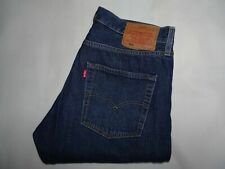 RARE* LEVIS 501 BIG E Waterless Premuim Mens Jeans Blue Stretch Denim W32 L29