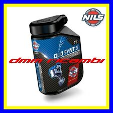 1 Litro Olio Miscela 2T NILS DUO SYNT S 100% Sintetico Racing Road Off-Road MX