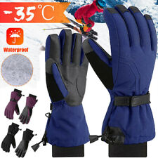 Kinder Handschuhe Skihandschuhe Snowboard Winter Thermo Warm Fahrradhandschuhe L