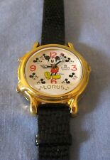 Lorus Musical Mickey Mouse Watch 2 Songs MINT