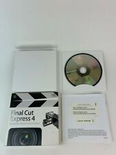 Final Cut Express 4 Retail MB278Z/A - Apple