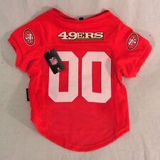 San Francisco 49ers NFL Large Mesh Pet Dog Jersey~SEE AD for SIZE/Measurement