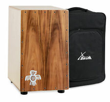 Cajon Drum Hand Percussion Drums Box Birch Wood Tunable Snare Crisp Sound + Bag
