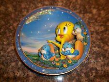 "Bradford Exchange Looney Tunes Tweety Bird Plate ""Wishing On A Star"" 3D Plate"