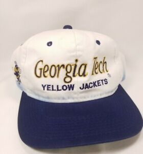vintage Georgia Tech Yellowjackets The Twill Sports Specialties snapback hat cap
