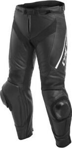 Dainese Sports Trousers Delta 3 Motorcycle Leather Pants New