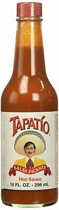 NEW MEXICAN TAPATIO HOT SAUCE SALSA PICANTE 10 FL OZ BOTTLE FREE WORLD SHIPPING