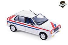 Citroen visa chrono 2 1982-white car with stripes car - 1/43 norev 150942