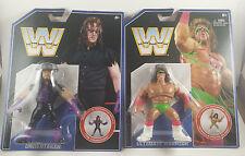 WWE WWF Retro Hasbro Lot Ultimate Warrior And Undertaker Brand New Free Shipping