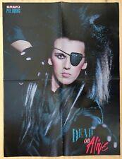 BRAVO POSTER PLAKAT Wham - George Michael - Pete Burns - Dead or Alive - 80er !