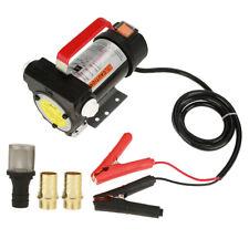 Pompa Travaso Elettrica Carburante Aspirazione Gasolio Olio Diesel Benzina 12V