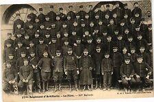 CPA 17me Régiment d'Artillerie - La Fére (191720)
