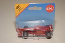V 1:64 SIKU 1357 FORMULA 1 F1 RACING CAR RED MINT BOXED ON CARD