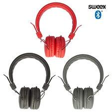 Kabellose Sweex Bluetooth Kopfhörer Headset für PC Smartphone On-Ear Headphones
