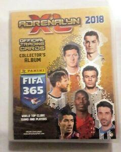 Adrenalyn XL Fifa 365 2018 (EMPTY NEW ALBUM BINDER) PANINI Football soccer cards