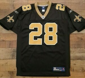 New Orleans Saints Black NFL Shirt Jersey #28 Mark Ingram size XxL 54